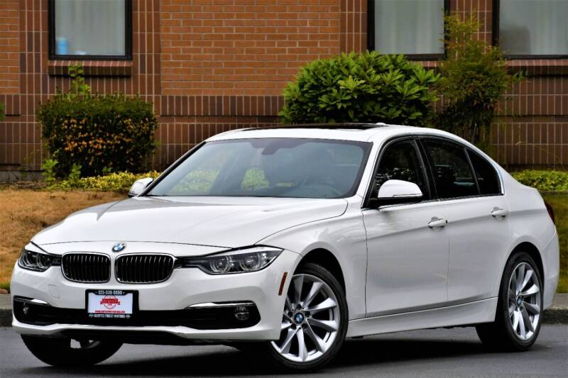 2017 BMW 3 Series for sale at SEATTLE FINEST MOTORS in Lynnwood WA