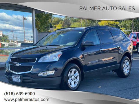 2012 Chevrolet Traverse for sale at Palmer Auto Sales in Menands NY