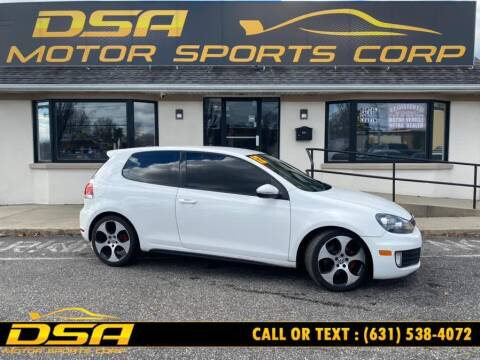 2012 Volkswagen GTI for sale at DSA Motor Sports Corp in Commack NY