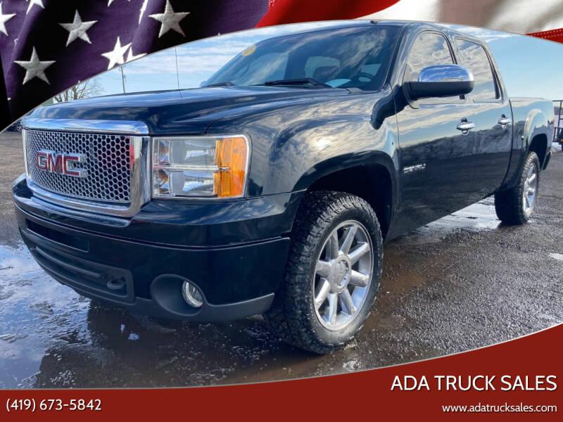 2013 GMC Sierra 1500 for sale at Ada Truck Sales in Ada OH