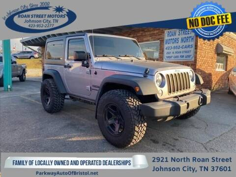 2015 Jeep Wrangler for sale at PARKWAY AUTO SALES OF BRISTOL - Roan Street Motors in Johnson City TN