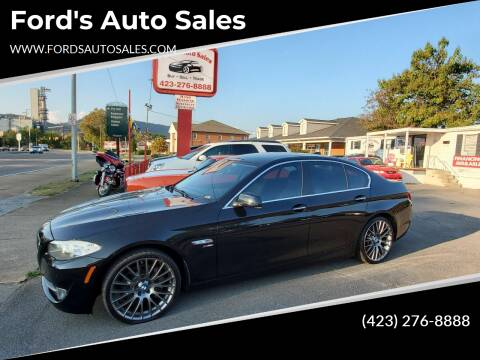 2012 BMW 5 Series for sale at Ford's Auto Sales in Kingsport TN
