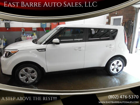 2015 Kia Soul for sale at East Barre Auto Sales, LLC in East Barre VT