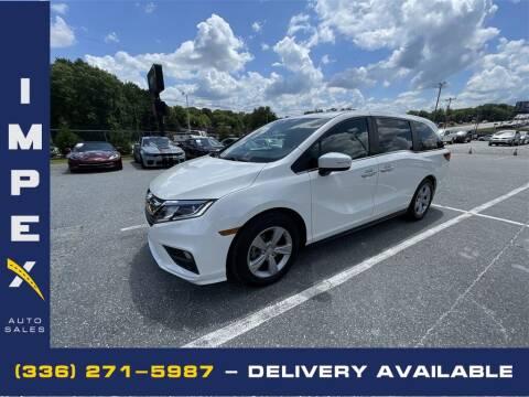 2018 Honda Odyssey for sale at Impex Auto Sales in Greensboro NC