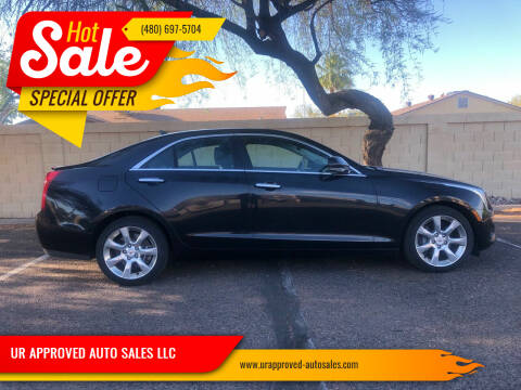 2013 Cadillac ATS for sale at UR APPROVED AUTO SALES LLC in Tempe AZ