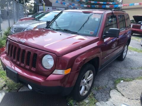 2013 Jeep Patriot for sale at GARET MOTORS in Maspeth NY