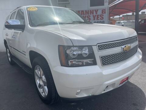 2014 Chevrolet Tahoe for sale at Manny G Motors in San Antonio TX