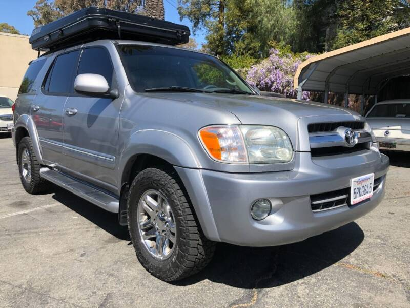 2005 Toyota Sequoia for sale at Martinez Truck and Auto Sales in Martinez CA