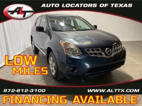 2013 Nissan Rogue for sale at AUTO LOCATORS OF TEXAS in Plano TX