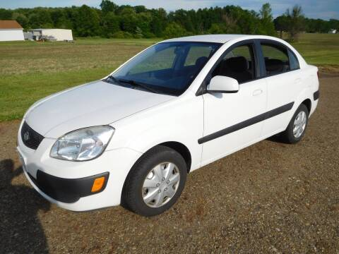 2009 Kia Rio for sale at WESTERN RESERVE AUTO SALES in Beloit OH