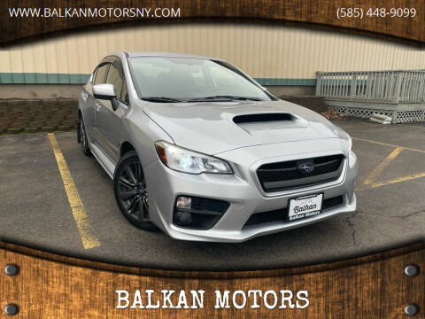 2016 Subaru WRX for sale at BALKAN MOTORS in East Rochester NY