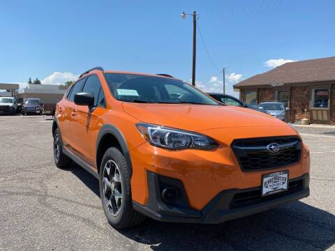 2018 Subaru Crosstrek for sale at BERKENKOTTER MOTORS in Brighton CO