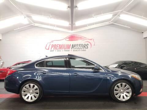 2011 Buick Regal for sale at Premium Motors in Villa Park IL