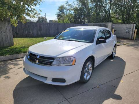 2013 Dodge Avenger for sale at Harold Cummings Auto Sales in Henderson KY