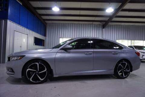 2020 Honda Accord for sale at SOUTHWEST AUTO CENTER INC in Houston TX