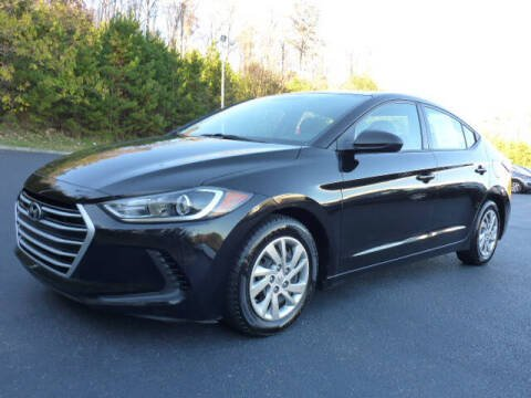 2017 Hyundai Elantra for sale at RUSTY WALLACE KIA OF KNOXVILLE in Knoxville TN