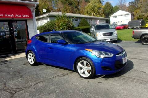 2013 Hyundai Veloster for sale at Dave Franek Automotive in Wantage NJ
