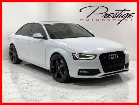 2014 Audi S4 for sale at Prestige Motorsport in Rancho Cordova CA