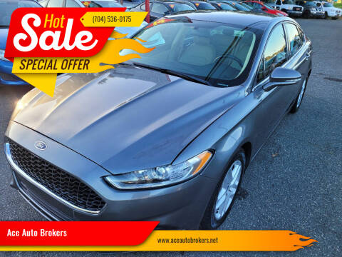 2014 Ford Fusion for sale at Ace Auto Brokers in Charlotte NC