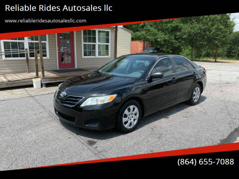 2011 Toyota Camry for sale at Reliable Rides Autosales llc in Greer SC