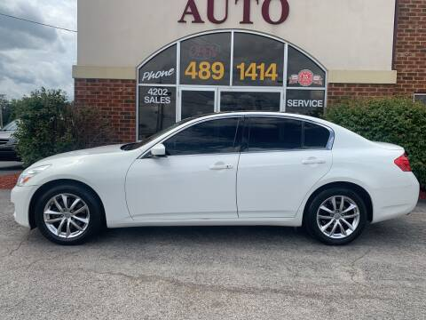 2009 Infiniti G37 Sedan for sale at Professional Auto Sales & Service in Fort Wayne IN
