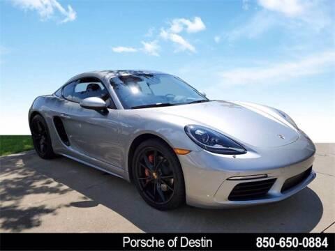 2018 Porsche 718 Cayman for sale at Gregg Orr Pre-Owned of Destin in Destin FL