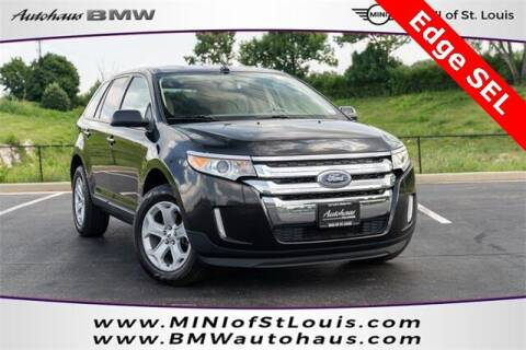 2013 Ford Edge for sale at Autohaus Group of St. Louis MO - 40 Sunnen Drive Lot in Saint Louis MO