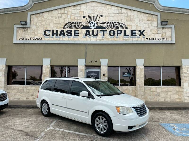 2010 Chrysler Town and Country for sale at CHASE AUTOPLEX in Lancaster TX