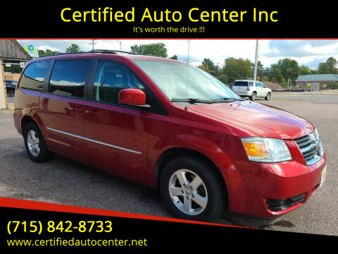 2010 Dodge Grand Caravan for sale at Certified Auto Center Inc in Wausau WI
