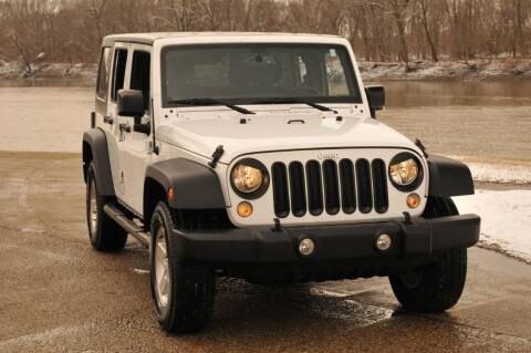 2017 Jeep Wrangler Unlimited for sale at Auto House Superstore in Terre Haute IN