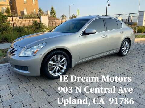 2008 Infiniti G35 for sale at IE Dream Motors-Upland in Upland CA