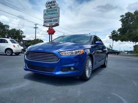 2015 Ford Fusion for sale at BAYSIDE AUTOMALL in Lakeland FL