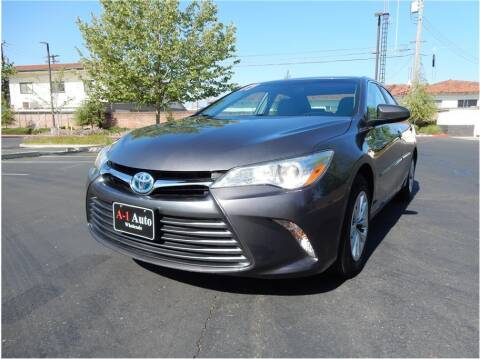 2017 Toyota Camry Hybrid for sale at A-1 Auto Wholesale in Sacramento CA