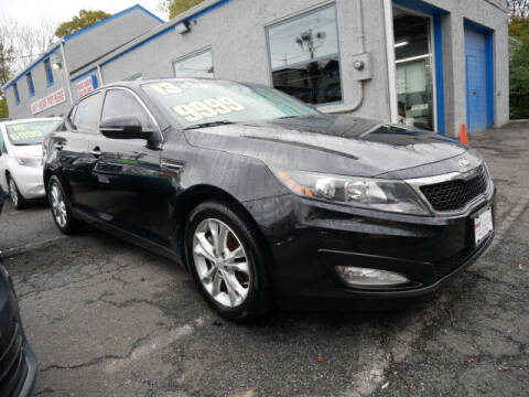 2013 Kia Optima for sale at M & R Auto Sales INC. in North Plainfield NJ