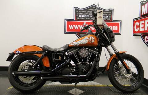 2015 Harley-Davidson DYNA STREET BOB for sale at Certified Motor Company in Las Vegas NV