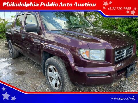 2007 Honda Ridgeline for sale at Philadelphia Public Auto Auction in Philadelphia PA