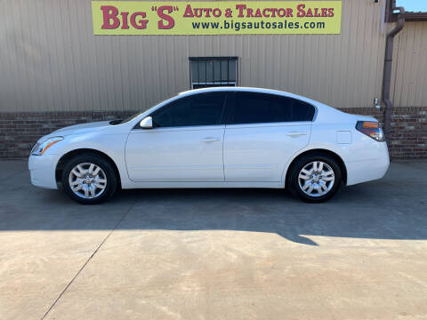 2012 Nissan Altima for sale at BIG 'S' AUTO & TRACTOR SALES in Blanchard OK