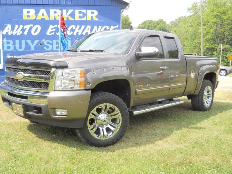 2011 Chevrolet Silverado 1500 for sale at BARKER AUTO EXCHANGE in Spencer IN