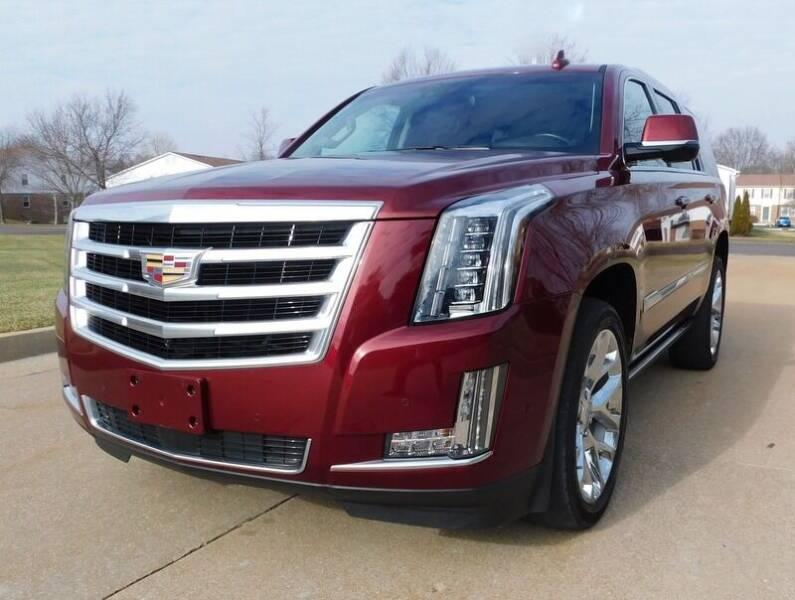 2017 Cadillac Escalade for sale at WEST PORT AUTO CENTER INC in Fenton MO