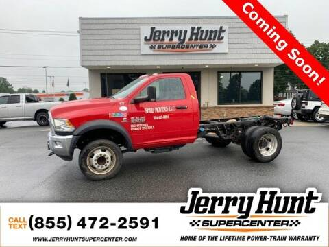 2018 RAM Ram Chassis 5500 for sale at Jerry Hunt Supercenter in Lexington NC