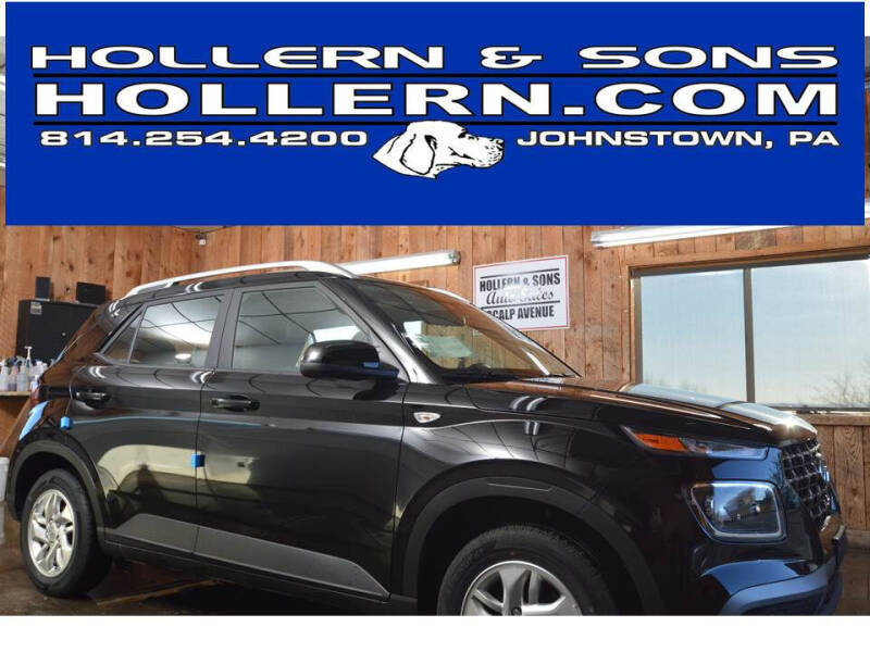 2020 Hyundai Venue for sale at Hollern & Sons Auto Sales in Johnstown PA