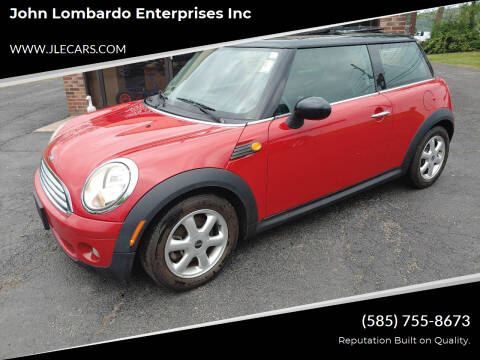 2008 MINI Cooper for sale at John Lombardo Enterprises Inc in Rochester NY
