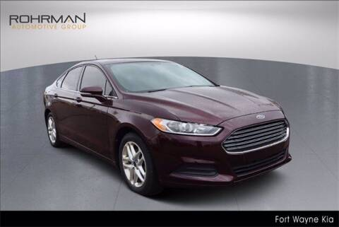 2013 Ford Fusion for sale at BOB ROHRMAN FORT WAYNE TOYOTA in Fort Wayne IN