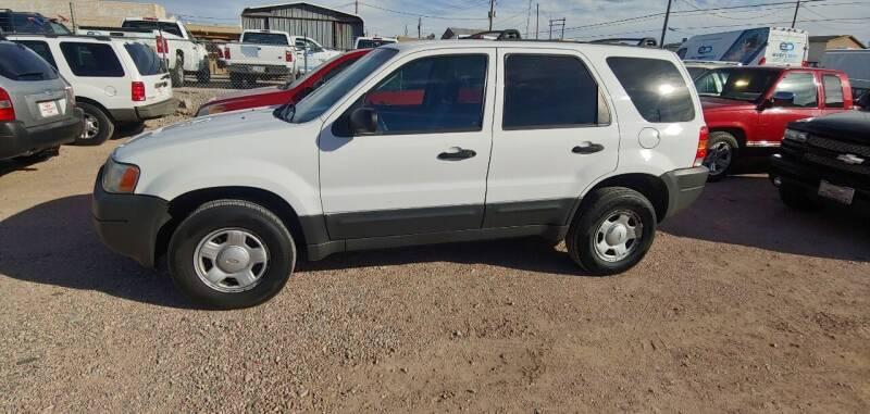 2004 Ford Escape for sale at ACE AUTO SALES in Lake Havasu City AZ