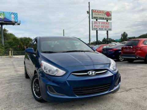 2015 Hyundai Accent for sale at Mars auto trade llc in Kissimmee FL