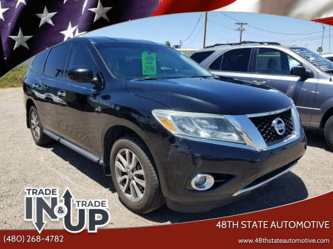 2013 Nissan Pathfinder for sale at 48TH STATE AUTOMOTIVE in Mesa AZ