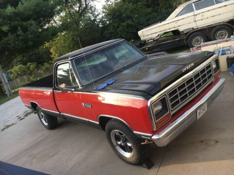 1981 Dodge RAM 150 for sale at Wayne Johnson Private Collection in Shenandoah IA