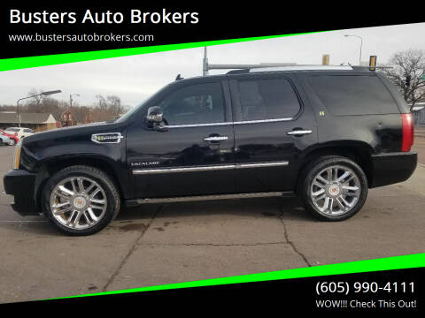 2010 Cadillac Escalade Hybrid for sale at Busters Auto Brokers in Mitchell SD
