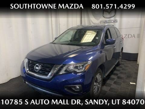 2018 Nissan Pathfinder for sale at Southtowne Mazda of Sandy in Sandy UT