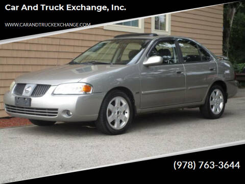 2005 Nissan Sentra for sale at Car and Truck Exchange, Inc. in Rowley MA